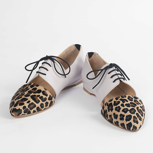 Indigenous Oxford Shoes for Women by Lordess -The Primitive Collection