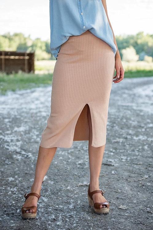 Half Moon Midi Skirt