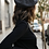 Thumbnail: Charcoal French Polyester Beret