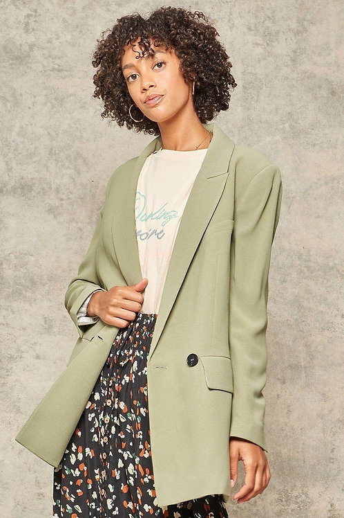 Woven Blazer Jacket