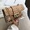 Thumbnail: Betty Shoulder Bag -Clear/Tan