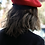 Thumbnail: Red French Polyester Beret