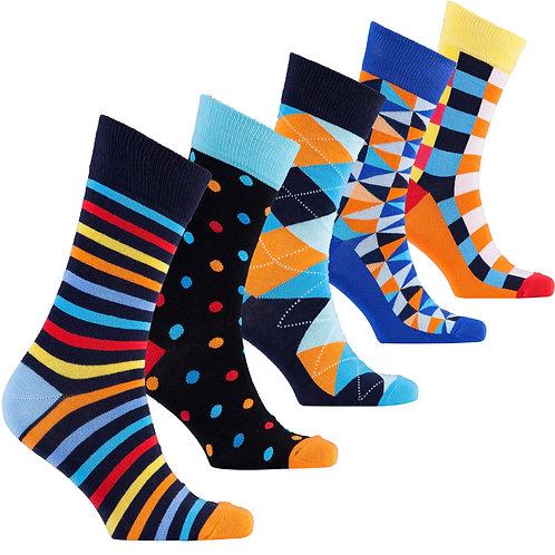 Men's Fashionable Mix Set Socks