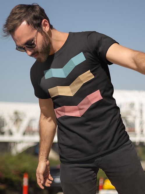 Geometric Design Triple T-shirt