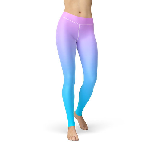 Jean Pink Blue Ombre