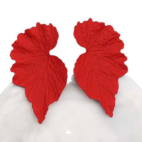 Mirrored Leaf Earrings