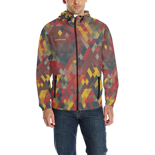 Windbreaker Jackets Shape Square All Over Print