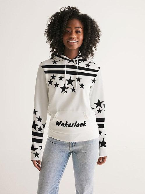 Wakerlook Black Stars Women's Hoodie