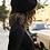 Thumbnail: Black French Polyester Beret