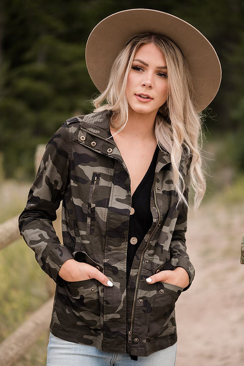 Now You See Me Camo Jacket