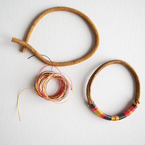 DIY Leather Bracelet Kit
