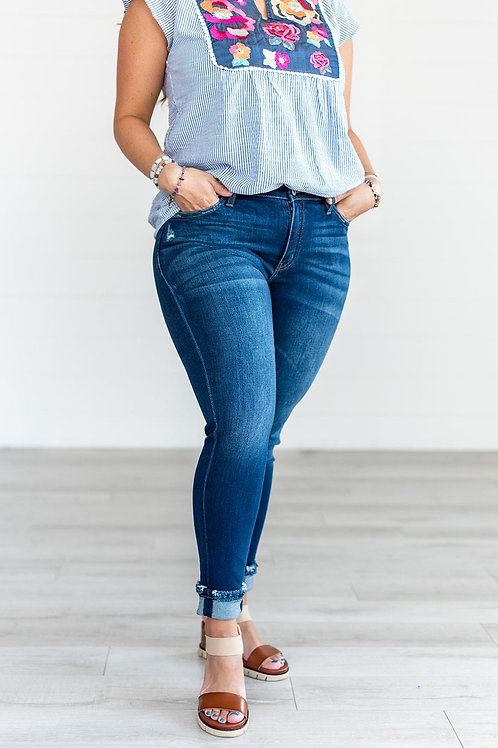 Impress You Mid Rise Skinny Jeans