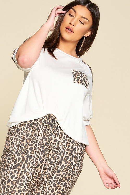 French Terry Casual Top