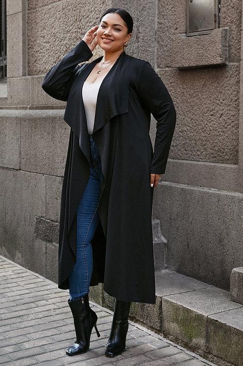 Flare & Chic Maxi Coat