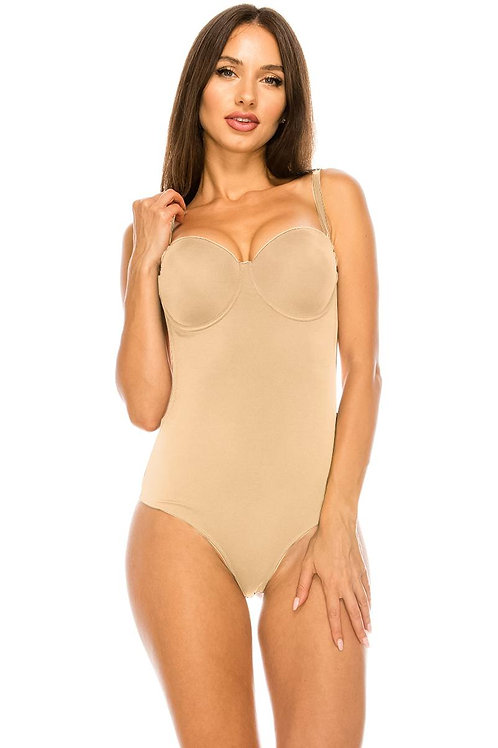 Bodysuit W/ Molded Cup and Open Back