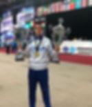 Coppa Campione Mondiale e Migliore Atlet