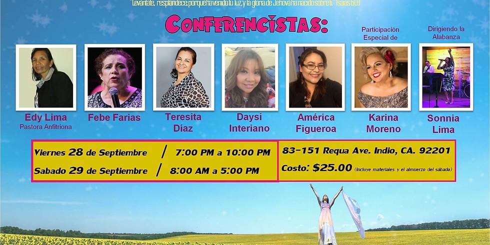 """IV Congreso de Mujeres """"Levantate y Resplandece"""""""