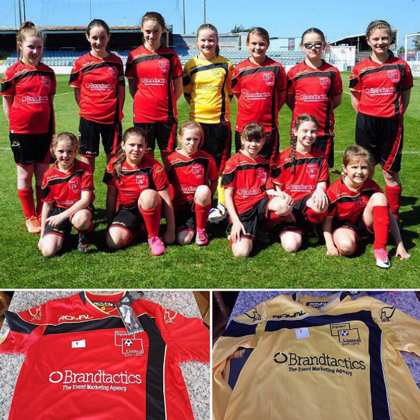 Brandtactics Are Sponsoring Square United U12 S Football Team Thanks To Larry Mcquillan For These Amazing Photos Of The