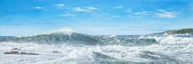 Big Seas Bicheno 115cm x 38cm