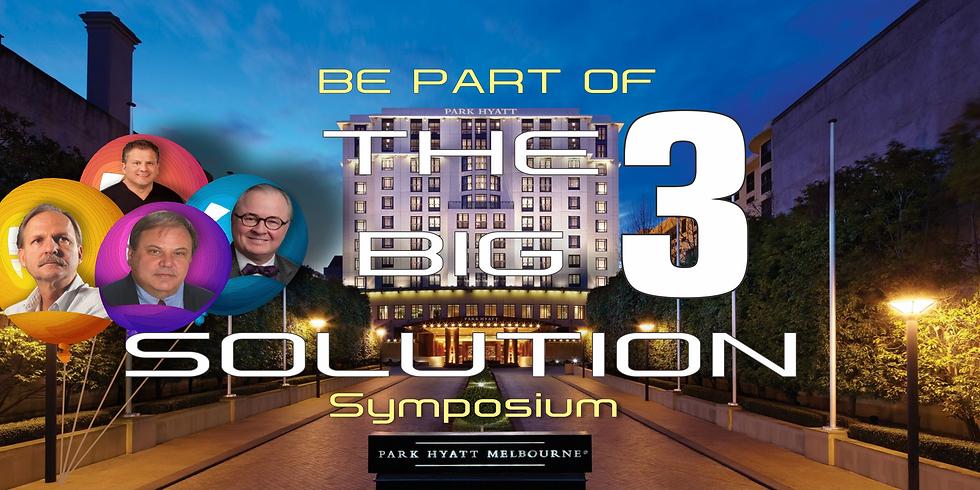 Big 3 Solution Symposium International Attendees.