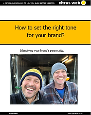 How to set the right tone for your brand