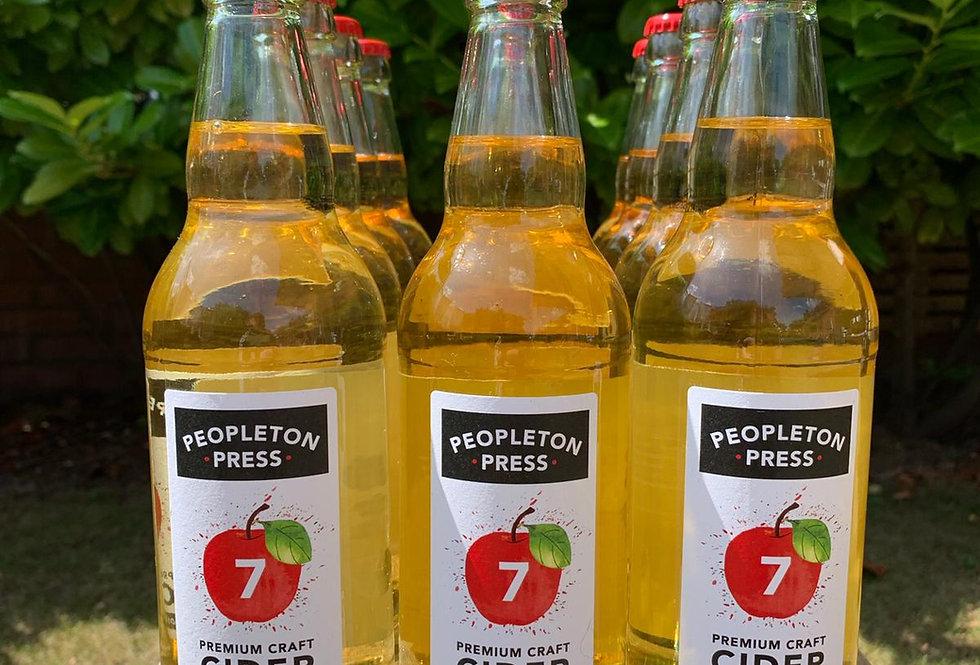 Peopleton Press Craft Cider Box (12x 500ml bottles) Original