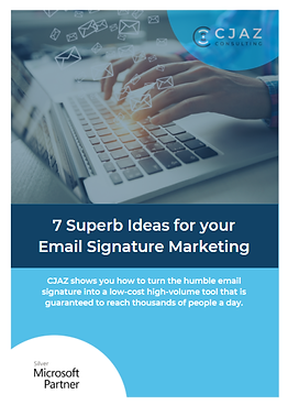 7 Superb Ideas for your Email Signature