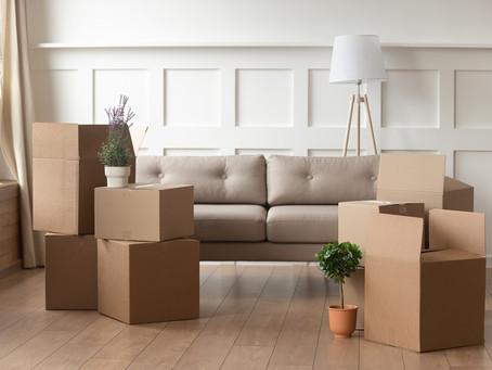 Dividing belongings when separating.