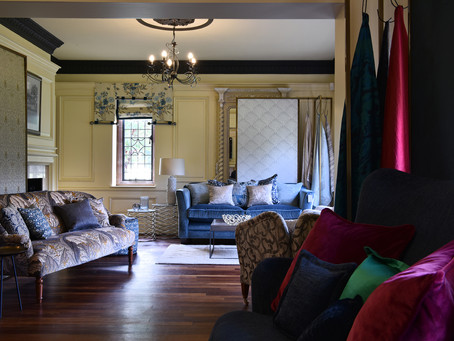 Luxury interior designers show, Design Central UK, launch their new website.