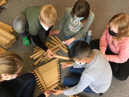 Orgel im Klassenzimmer