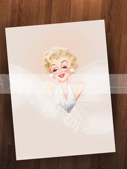 Marilyn Monroe  Limited Edition Litho
