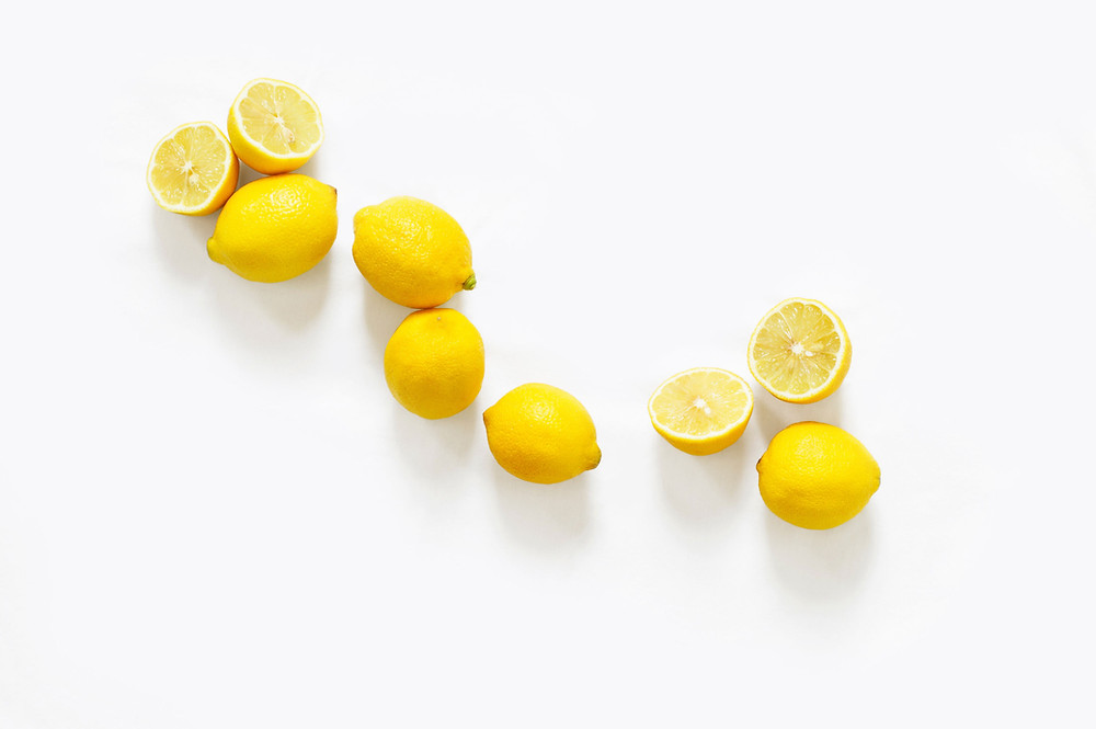 lemons vitamin C used in face cream