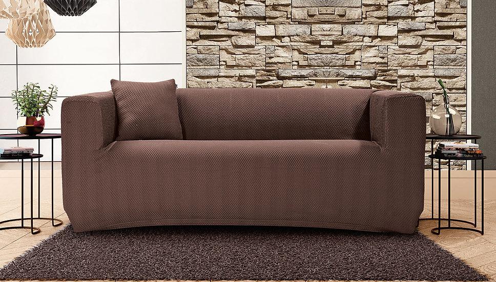 Ελαστικό κάλυμα διθέσιου καναπέ σε 5 χρώματα