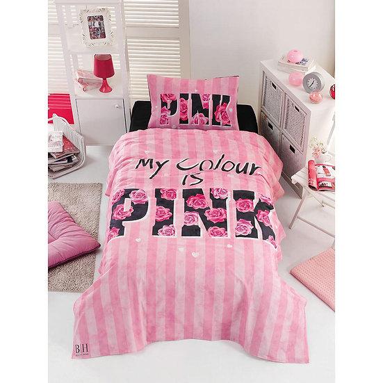 Σετ σεντόνια μονά Pink - 160x240 Ροζ Beauty Home