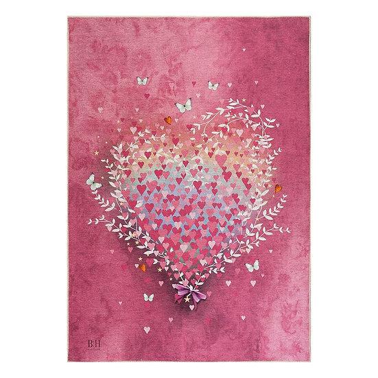 Χαλί Cool Art 9529 Ροζ 160x230 Beauty Home
