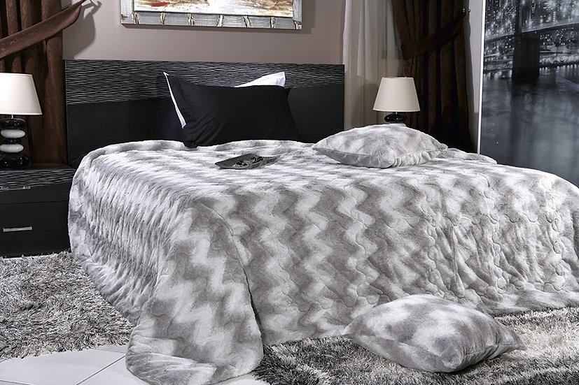 Κουβέρτα απο οικολογικη γουνα art 1307 ST. Moritz Beauty Home