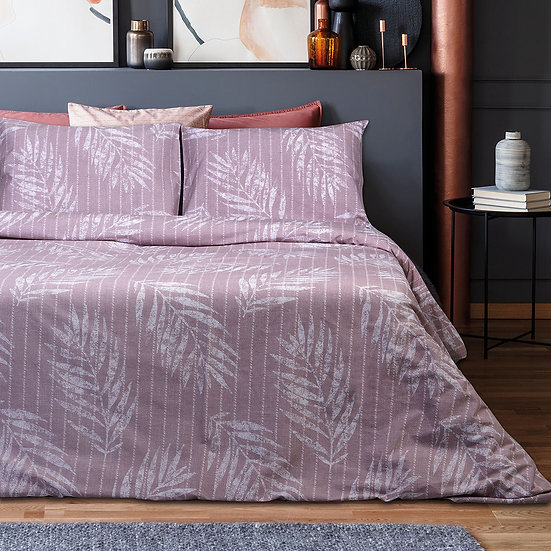 Σετ πάπλωμα μονό Zane Art 1967 160×240 Ροζ Beauty Home