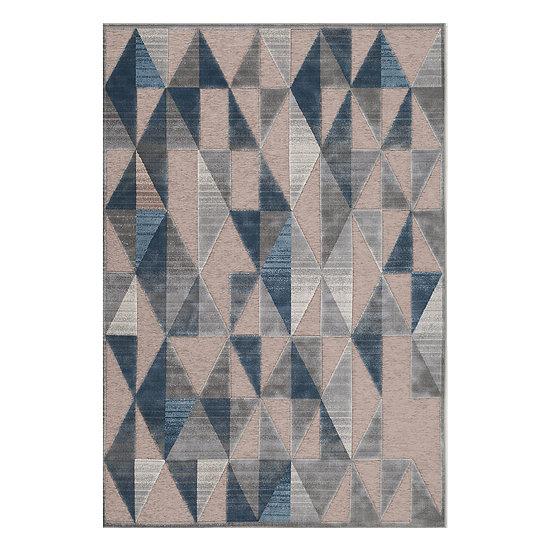 Χαλί Manhattan Art 9933 Γκρι,Μπλε 160x230 Beauty Home