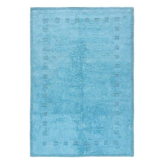 Χαλί βαμβακερό Cottony Art 9554 Σιέλ 100x150 Beauty Home