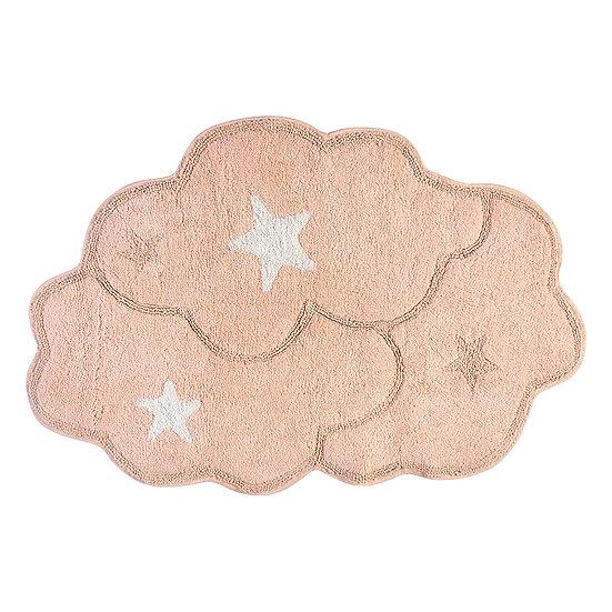 Χαλί βαμβακερό Cottony Art 9550 80x120 Ροζ Beauty Home