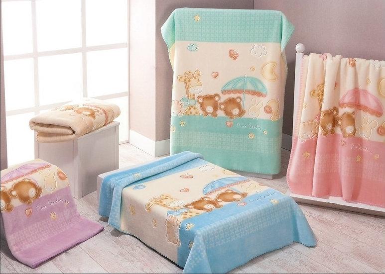 Κουβέρτα bebe Pierre Cardin baby nancy 344