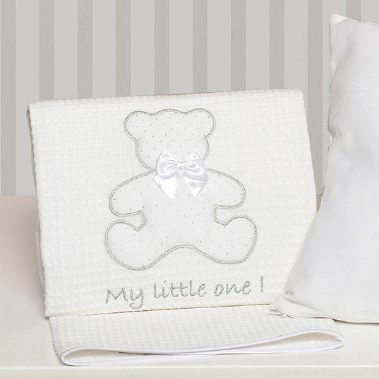 Κουβέρτα Πικέ Κούνιας Baby Oliver My Little One 100x140