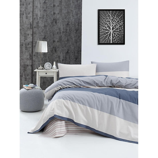 Κουβερλί υπέρδιπλο Lines - 220x240 Εμπριμέ Beauty Home