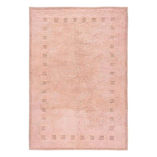 Χαλί βαμβακερό Cottony Art 9554 Ροζ 120x180 Beauty Home