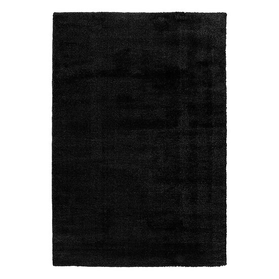 Χαλί Fluffie Art 9613 Black - 160x230 Ανθρακίτης Beauty Home