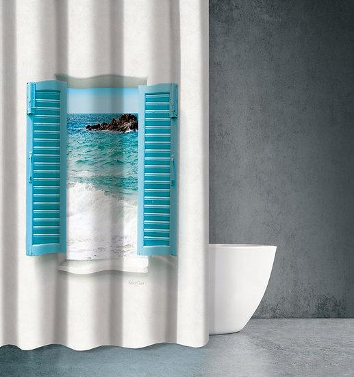 Κουρτίνα Μπάνιου Seawater Des 604