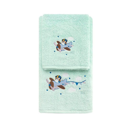 Σετ πετσέτες Art 5201 - Σετ 2τμχ Βεραμάν Beauty Home