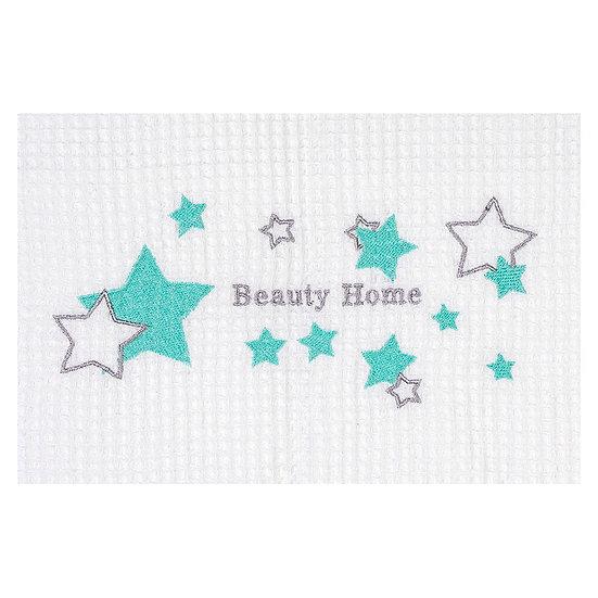Κουβέρτα πικέ Art 5159 - 120x160 Λευκό Beauty Home