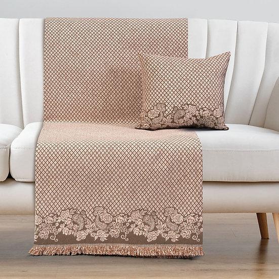 Ριχτάρι Τετραθέσιο Art 8341 180x350 - Τετραθέσιο Ροζ Beauty Home