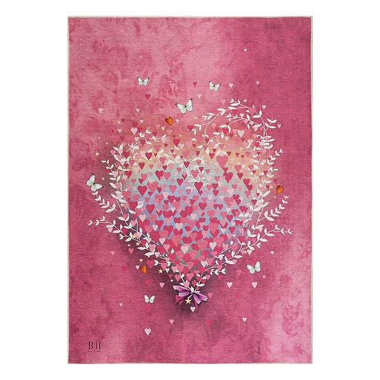 Χαλί Cool Art 9529 - 160x230 Ροζ Beauty Home
